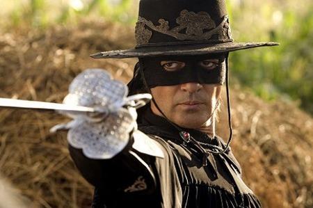 Antonio Banderas in The Mask of Zorro