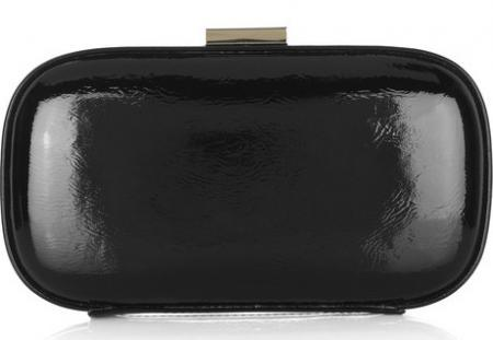 Anya Hindmarch Patent Box Clutch