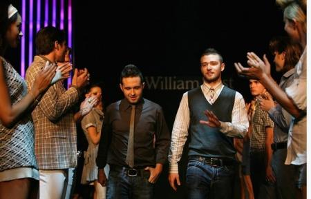 Trace Ayala and Justin Timberlake get applause for William Rast