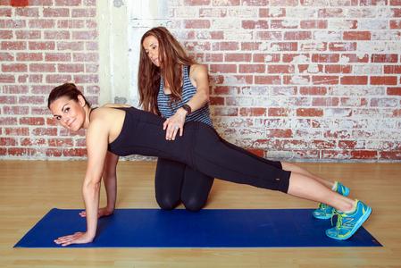 Triceps Step-Up: Step 2
