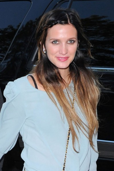 Ashlee Simpson's super long hairstyle