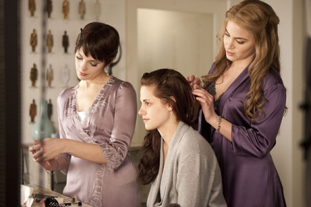Breaking Dawn: Alice, Bella, and Rosalie
