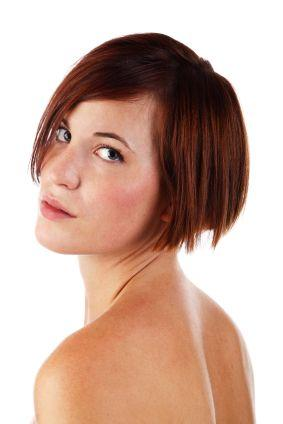 Short hairstyles: Short Undercut Bob