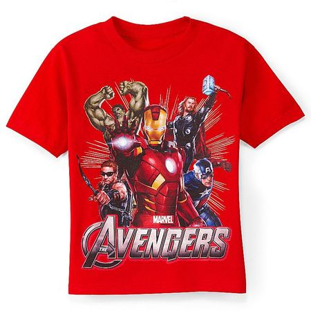 Avengers graphic tee