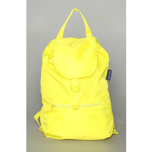 Go back to school in style with this bold neon yellow backpack from Karmaloop.com.