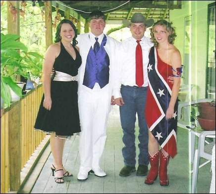 Another patriotic prom outfit