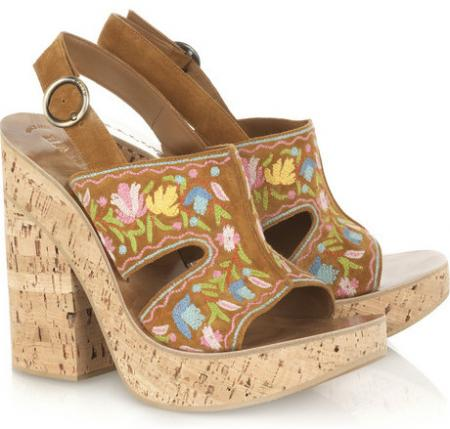 Bally Cork Wedge Sandals