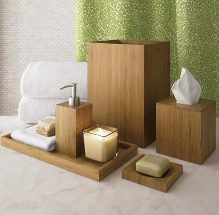 Bamboo Accessories - Bathroom decorating ideas