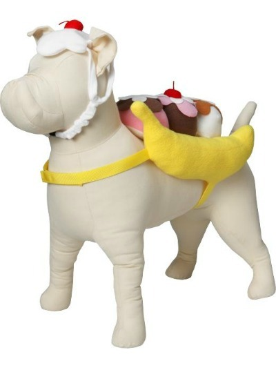 Banana Split Pet Costume