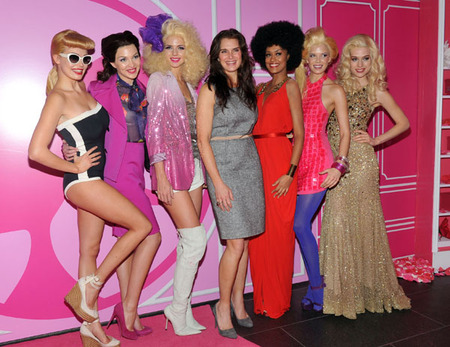 Brooke Shields and The Barbies