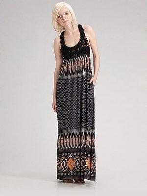 Barila Printed Maxi Dress
