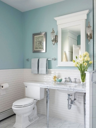 Bathroom Light Design Decor Bathroom Accents In The Hottest Summer Hues Light Blue Bathroom Decor