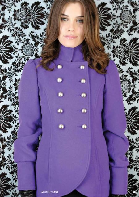 BB Dakota Sage Military-Style Winter Coat