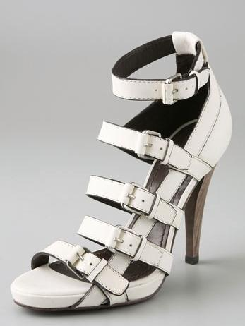 BCBGMAXAZRIA Buckled Strap Sandals
