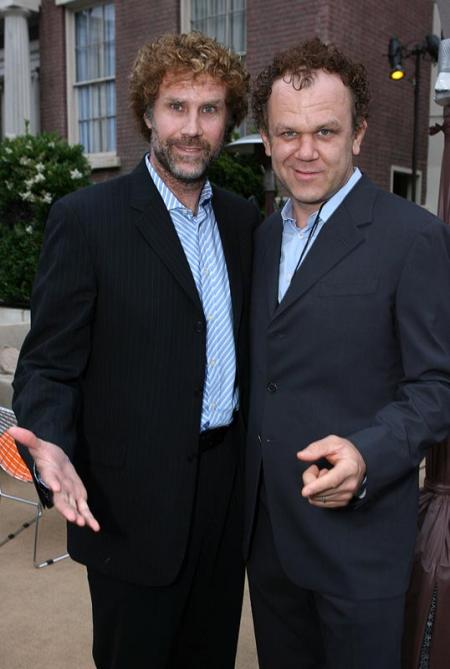 Bearded Will Ferrell and John C. Reilly