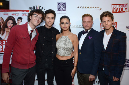 Nate Hartley, Nat Wolff, Selena Gomez, Tim Garrick and Lachlan Buchanan