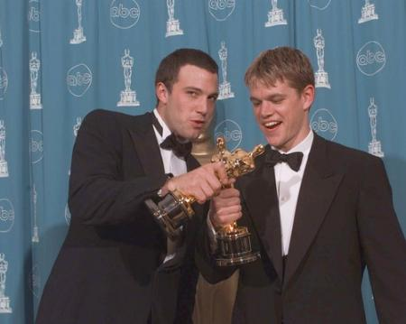Ben Affleck and Matt Damon took home the Oscars