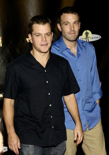 Pals Ben Affleck and Matt Damon at the Feast premiere