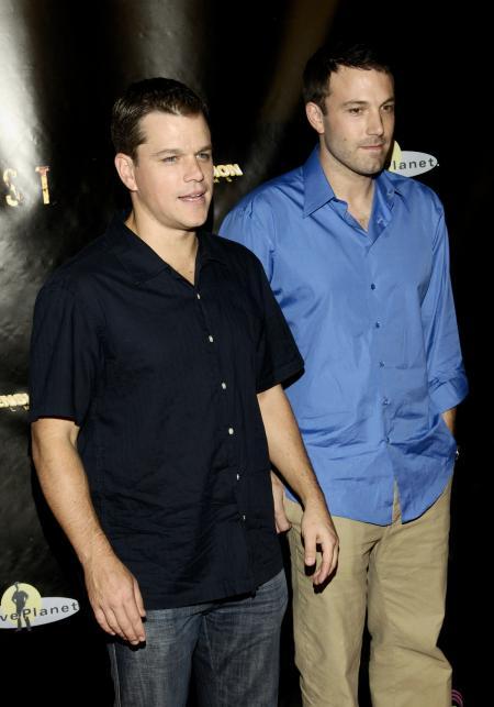 Ben Affleck and Matt Damon at the Feast premiere