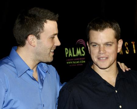 Ben Affleck and Matt Damon in Vegas