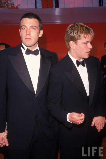 Ben Affleck and Matt Damon at the Oscars
