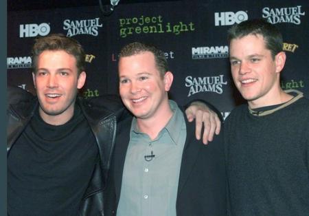 Ben Affleck and Matt Damon for Project Greenlight