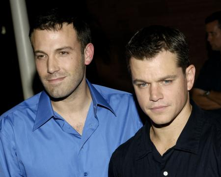 Ben Affleck and Matt Damon at the Las Vegas premiere of Feast