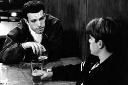 Ben Affleck and Matt Damon in Good Will Hunting