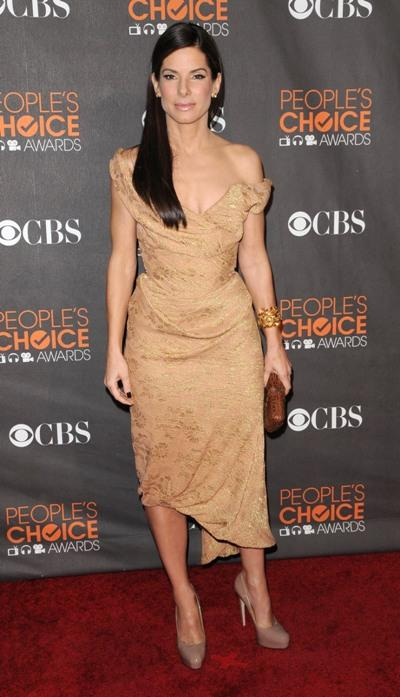 "Sandra Bullock stars in ""The Blind Side"""