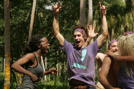 Best Survivor: Samoa (19) Moments Brett Cheers Galu Win