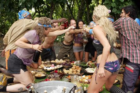Best Survivor: Samoa (19) Moments Merging Feast