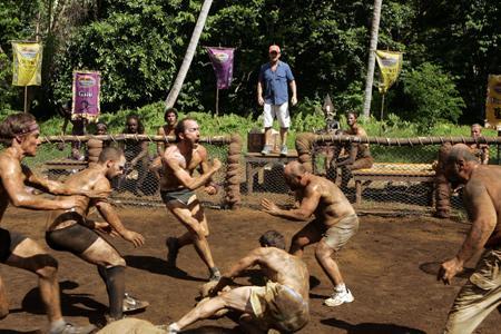 Best Survivor: Samoa (19) Moments Mud Wrestling During Challenge