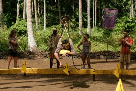 Best Survivor: Samoa (19) Moments Foa Foa During Challenge