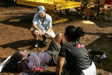 Best Survivor: Samoa (19) Moments Russell S. Getting Medically Evacuated