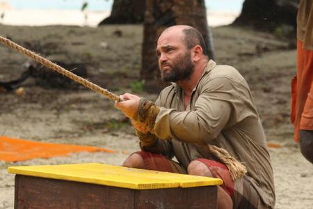 Best Survivor: Samoa (19) Moments Russell H. During Challenge