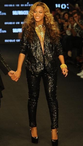 Sparkling suit