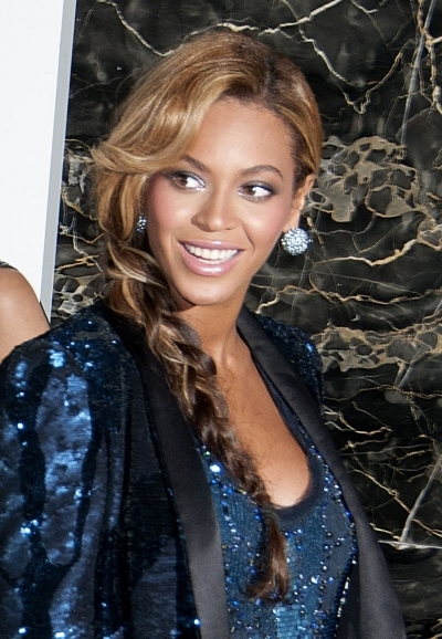 Beyonce long braid