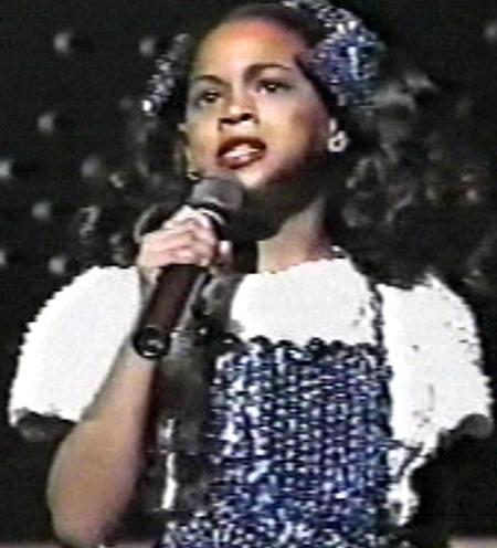 Beyonce at Age 8