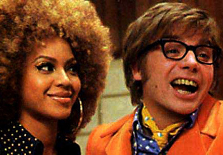 Beyonce in Austin Powers Film