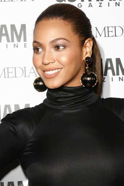 Beyonce's Tight Ponytail