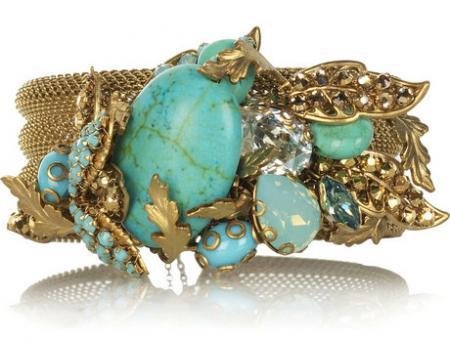 Bijoux Heart Vintage Mesh Bracelet