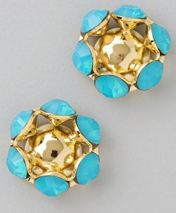 Bing Bang Rhinestone Stud Earrings