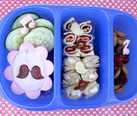 Sweet Melody bento box lunch