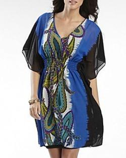 Batwing Sleeved Dress