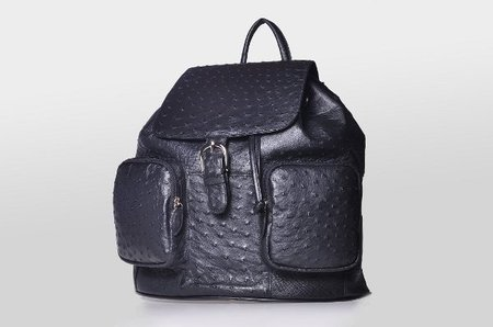 Jessica Grant Black Backpack