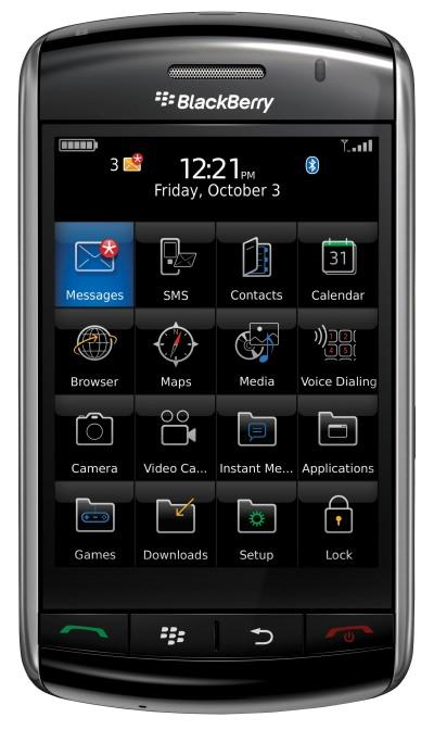 Blackberry Storm Touchscreen