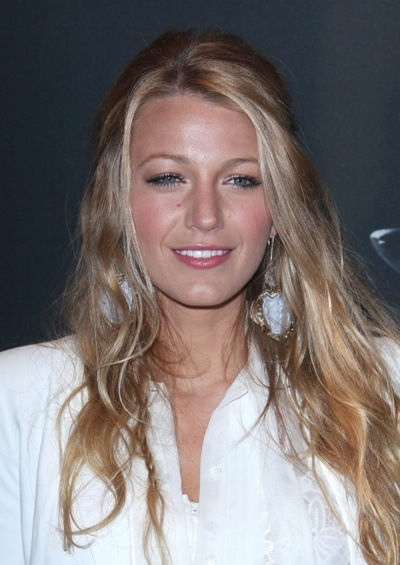 Blake Lively's cute hairstyle