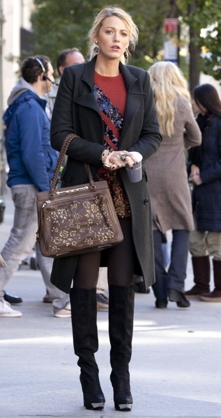Blake Lively's fall fashion