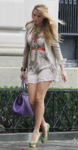Blake Lively in a sundress