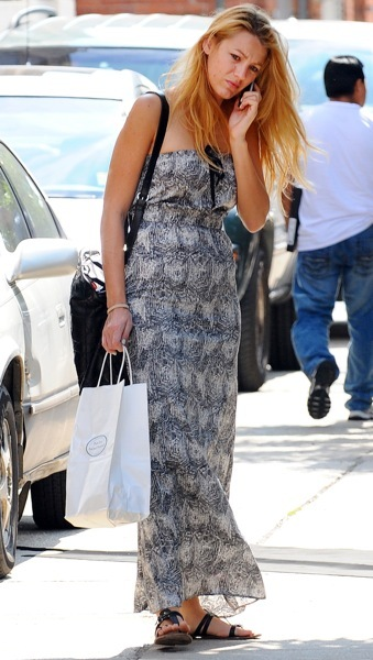 Blake Lively's long sundress